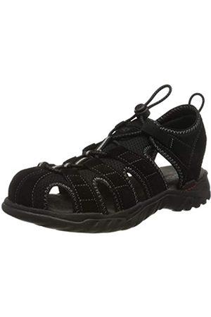 Dockers by Gerli Men's 36li019-207120 Sling Back Sandals, (Schwarz/Grau 120)