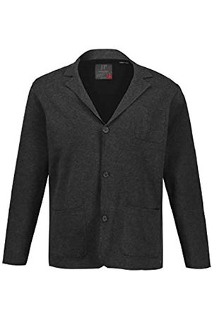 JP 1880 Men's Big & Tall Knitted Jacket Anthracite-Melange X-Large 723435 11-XL