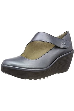 Fly London Women's YASI682FLY Closed Toe Heels, (Graphite 037)