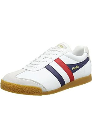 Gola Men's Harrier Leather Trainers, ( /Navy/ Xe)