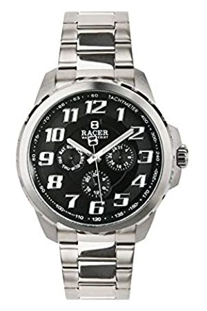 Racer Men's Quartz Chronograph Watch with Stainless Steel Strap S015