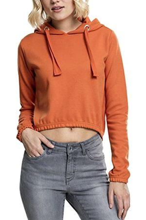 Urban Classics Women's Ladies Interlock Short Hoody Hooded Sweatshirt