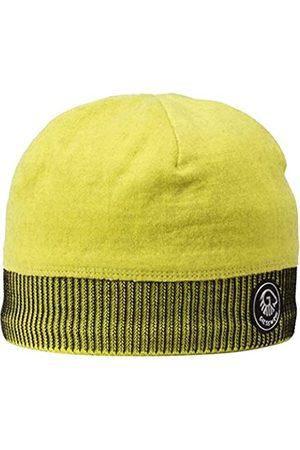 GIESSWEIN Sports Beanie Kugelhorn Lime ONE - 100% Merino Wool Cap, Sports Cap for Men & Women, Warm Fleece Lining Inside