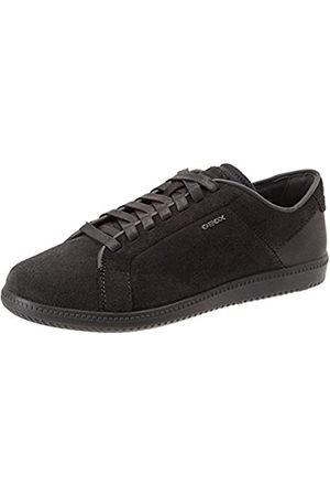 Geox Men's U Keilan D Low-Top Sneakers, (Dk Jeans/Anthracite C4n9a)