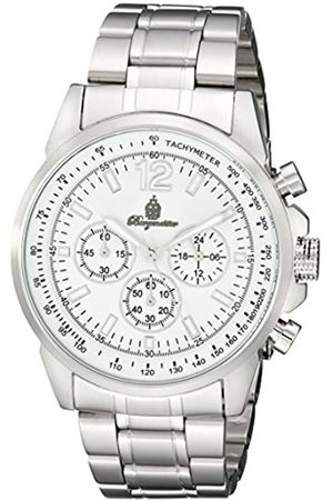 Burgmeister BM608-181 Washington, Gents watch, Analogue display, Chronograph with Citizen Movement - Water resistant, Stylish stainless steel bracelet