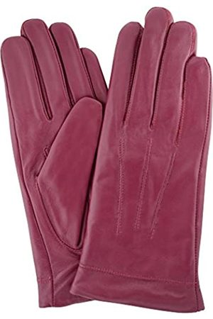 """Snugrugs Womens Butter Soft Premium Leather Glove with Classic 3pt Stitch Design & Warm Fleece Lining - - Large (7.5"""")"""