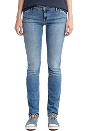 Mustang Women's Skinny Fit Jeans - - Blau (brushed bleached 512) - 34/32 (Brand size: 34/32)