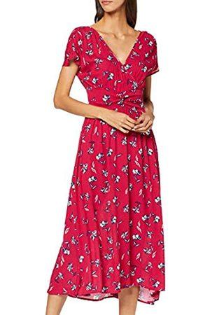 Springfield Women's 4.2.pc. Midi Nudo DressMulticolour (Multicolor 78)6 (Manufacturer Size: 34)