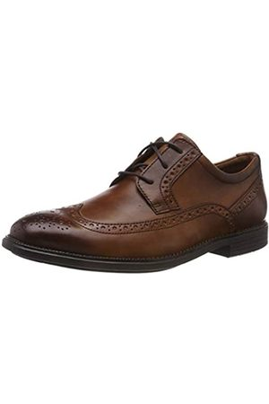 Rockport Men's Madson Wingtip Brogues, (Cognac 002)
