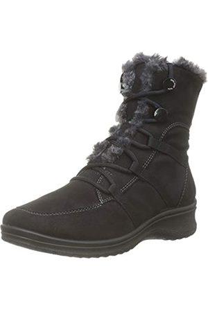 ARA Women's München 1248507 Snow Boots, (Schwarz, Graphite 65)