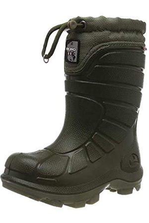 Viking Unisex Kids' Extreme Snow Boots, (Huntinggreen/Olive 2437)