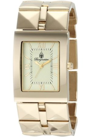 Burgmeister Venus Bm501-479 Ladies Analogue Quartz Wristwatch Plated