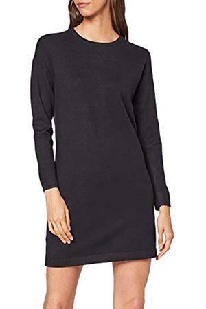 Vero Moda Women's Vmhappy Basic Ls Zipper Dress Noos