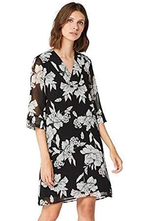 Brand TRUTH /& FABLE Womens Midi Chiffon A-Line Dress