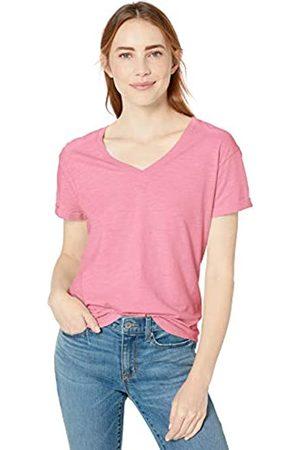 Goodthreads Vintage Cotton Roll-Sleeve V-Neck T-Shirt