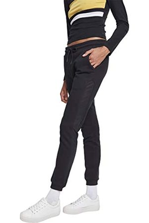 Urban Classics Women's Ladies Tech Mesh Side Stripe Sweatpants Trouser