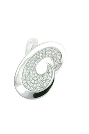 Vilma Righi Ring 925 Sterling Rhodium-Plated with 75 ZirconiaSize 54 4028146202894