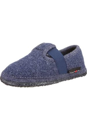 Haflinger Slipper Joschi, Unisex Indoor Shoes, (72 Jeans)