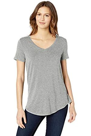 Amazon Essentials Short-sleeve V-neck Tunic Shirt