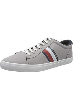 Tommy Hilfiger Men's Essential Stripes Detail Sneaker Low-Top, (Antique PRT)