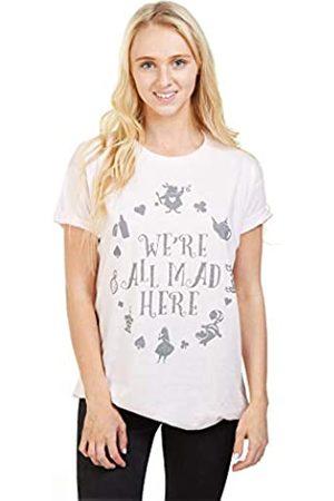 Disney Women's Alice in Wonderland MAD HERE T-Shirt