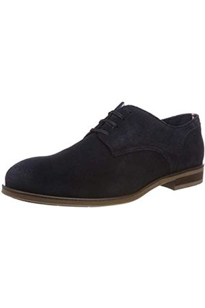 Tommy Hilfiger Herren Dress Casual Suede Shoe Oxfords, Blau (Midnight 403)
