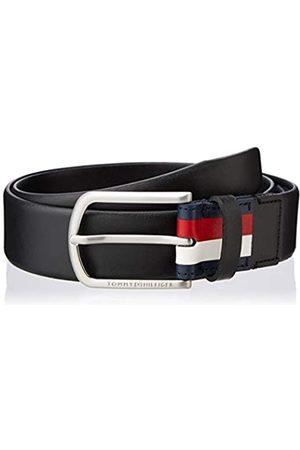 Tommy Hilfiger Men's Crescent Long Buckle Belt 3.5