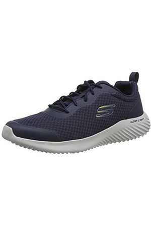 Skechers Men's Bounder Trainers, (Navy Mesh/Synthetic/Trim NVY)