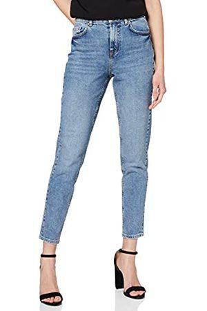 Pieces Women's PCLEAH MOM HW ANK MB213-BA/NOOS Boyfriend Jeans