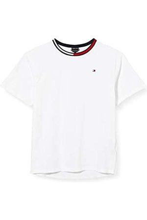 Tommy Hilfiger Boy's MESH Insert Boxy FIT TEE S/S T-Shirt