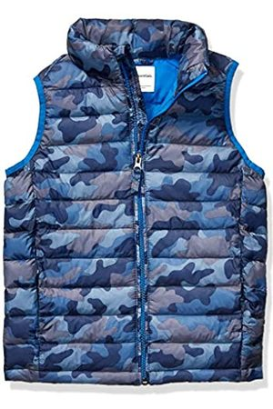 Amazon Boys' Lightweight Water-resistant Packable Puffer Vest Down Camo