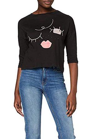 INSIDE Women's 8SFC40 T-Shirt, (Negro 1)