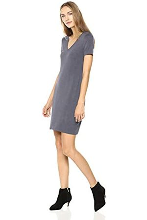 Daily Ritual Jersey Short-sleeve V-neck T-shirt Dress Casual