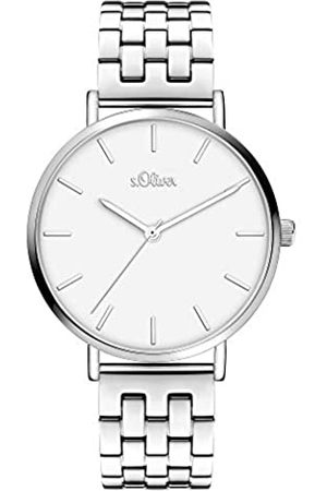 s.Oliver Quartz Watch with Stainless Steel Strap SO-3965-MQ