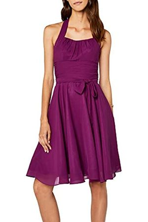 Astrapahl Women's co8002ap Knee-Length Plain Cocktail Sleeveless Dress