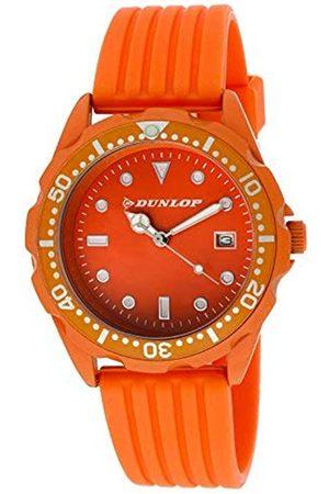 Dunlop Unisex Adult Analogue Quartz Watch with Rubber Strap DUN184L08