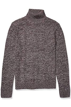 Goodthreads Supersoft Marled Turtleneck Sweater Burgundy
