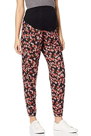 Dorothy Perkins Maternity Women's Floral OVERBUMP Jogger Maternity Sports Trousers