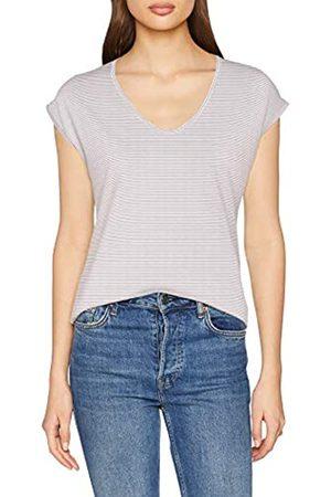 Pieces Women's Pcbillo Tee Lurex Stripes Noos Plain T-Shirt Short Sleeve T-Shirt