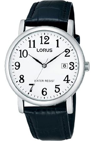 Lorus Gents Watch XL Analogue Quartz RG835CX9 Classic Leather
