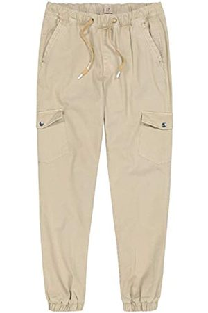 JP 1880 Men's Big & Tall Comfortable Cargo Pants Sand Large 720229 24-L