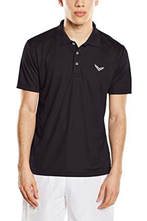 Trigema Men's Polo Shirt Schwarz (schwarz 008) XXXXX-Large