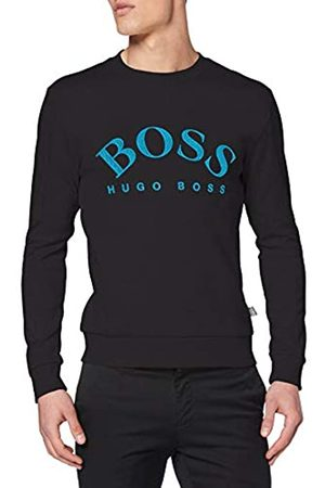 HUGO BOSS Men's Salbo Plain Sweatshirt Sweatshirt