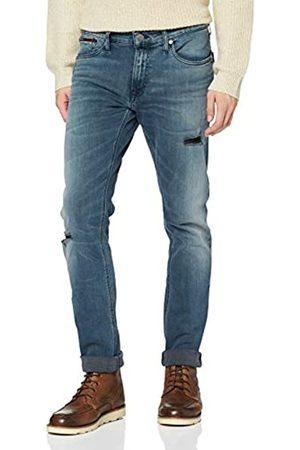 Tommy Hilfiger Men's Slim Scanton Dygm Straight Jeans