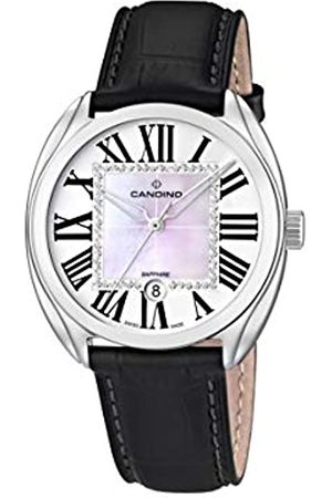 Candino Womens Analogue Classic Quartz Watch with Leather Strap C4463/3