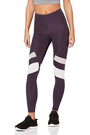 AURIQUE Amazon Brand - Women's High Waisted 7/8 Running Leggings, 12
