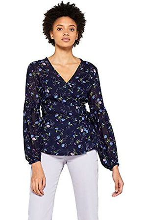 FIND Women's Floral Wrap Blouse