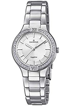 Candino Womens Analogue Classic Quartz Watch with Stainless Steel Strap C4626/1
