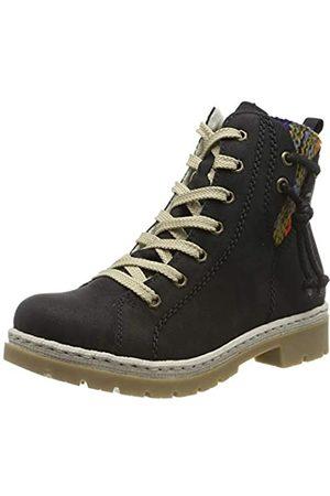 Rieker Women's Herbst/Winter Ankle Boots, (Schwarz/ -Multi 00)