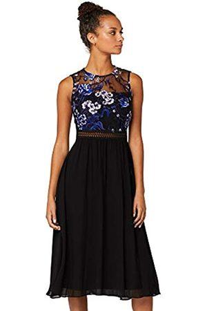 TRUTH & FABLE Amazon Brand - Women's Maxi Chiffon Dress, 8